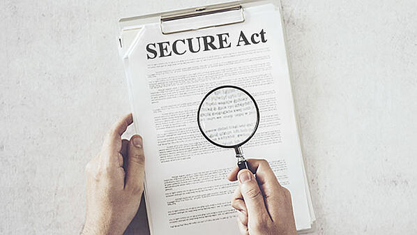 What are the SECURE Act Opportunities?